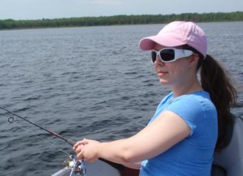 Jasmine fishing